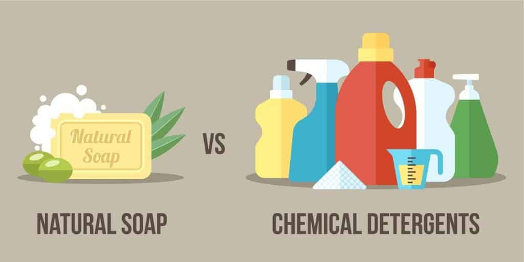 Natural Soap vs Chemical Detergents